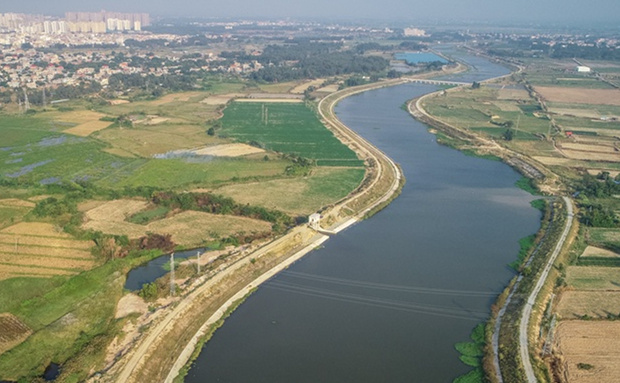 组图 | 养护水草 净化水体 东方打造罗带河景观带